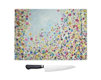 Strictly Wildflower Chopping Board