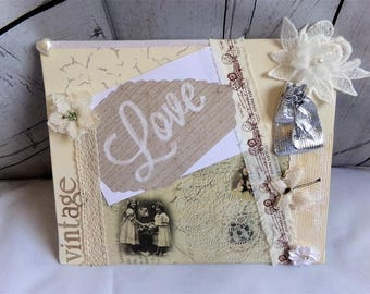 Table photo customizable shabby chic spirit