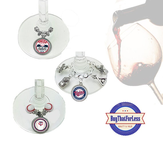 MINNESOTA Wine or Bottle Charms, Napkin Rings, Set of 6, U Choose Style +FREE SHIPPING & Discounts*