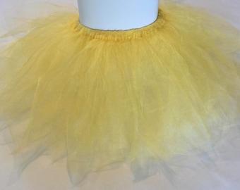 Girl's gold tutu, Baby tutu, Infant tutu, Newborn tutu, Birthday tutu, Toddler tutu, Photo prop, Ballerina tutu, Ballet tutu, Custom tutu