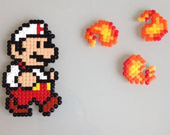 Geek - Mario and fireball