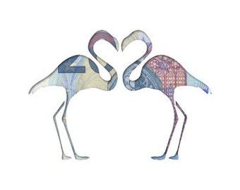 Money gift card Flamingo