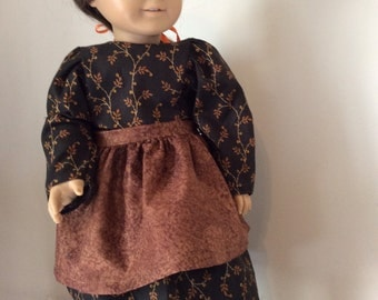 American girl doll dress and apron