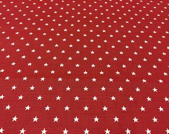 Scandinavian fabric rigid cotton canvas fabric, Acrylic coated Stars
