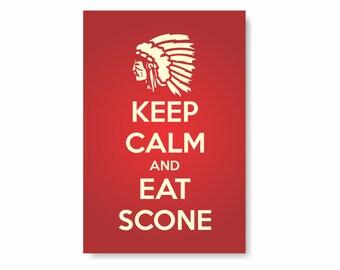 Keep Calm Eat Scone