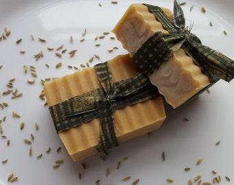 Lemon Myrtle & Fennel Goat's Milk Soap