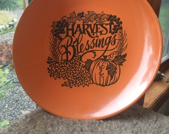 Harvest Decorative Plate
