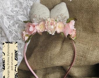 Hairband Ears of The Rabbit, Headband Ears, Ears for child, Ears headband, hoop, parties