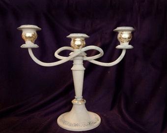 Vintage Silver Plated Twisted Candle Holder Candlestick Candelabra Chandelier