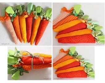 Easter carrot decoration