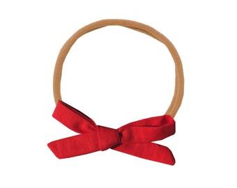 Schoolgirl Bow or Pigtail Set /// Rosie