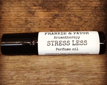 Stress Less natural vegan perfume oil for stress & anxiety