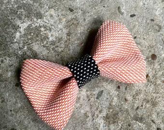YUMI bow tie-pink | Black | White
