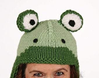 Mützentier - UNIQUE - handmade hat in frog form
