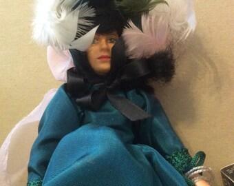 """Peggy Nisbet Vivian Leigh Scarlett's O'Hara Doll in Original Box 8"""""""