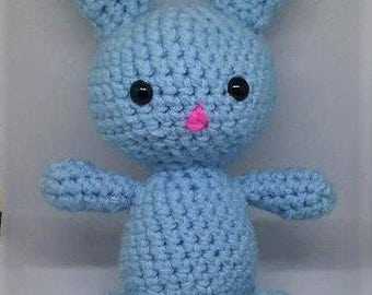 Crochet Bunny, Easter Gift, Crochet Rabbit, Crochet Toy, Stuffed Animal, Rabbit Toy, Easter Bunny, Baby Shower, Easter Decor, Easter Basket
