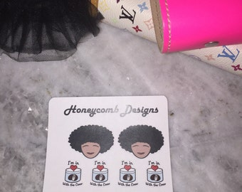 Butter Pecan Princess Stickers