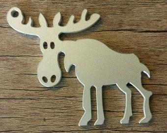 Sweet X-MAS Moose, comic Moose, Sweden MOOSE, reindeer, Keychain, Christmas gift