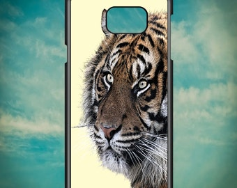Fierce Tiger Head for Samsung Galaxy Note 3, Samsung Galaxy Note 4, Samsung Galaxy Note 5, Electronic Phone Case