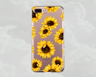 Sunflowers.iPhone X case.iPhone 7 case.iPhone 7 Plus case.iPhone 8 case.iPhone 8 Plus case.iPhone 6s case.iPhone 6s Plus.Clear case.Floral