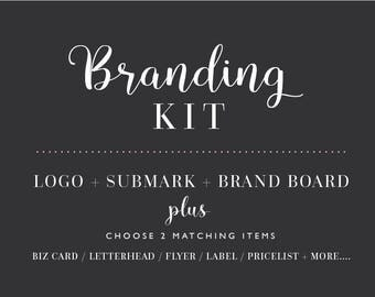 Branding, logo design, brand ID, brand package, logo pack,flyer design, new business logo, social media headers, shop logo,