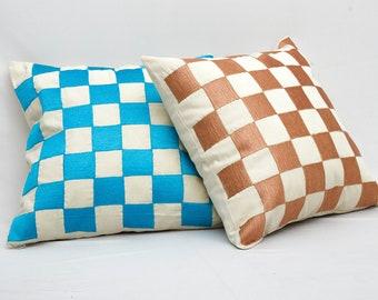 Checkered Organic Cotton
