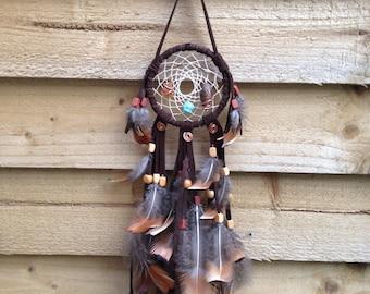 Authentic Leather Dreamcatcher