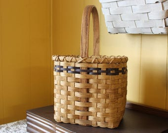 Wine Basket, Handmade Wine Basket, Handwoven Basket, Hand Woven Basket