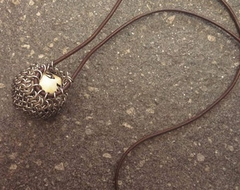 Tiny Adorable Dice Bag Necklace