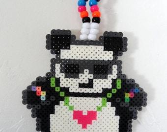 Rocking Rave Plur Panda Kandi Necklace