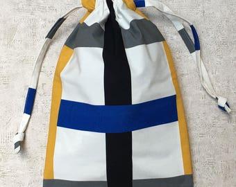 beach bag / laundry - unique - cotton canvas bag type furniture - cotton bag
