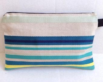 Sandy Beach Clutch | Zipper Pouch | Purse Organizer | Makeup Bag