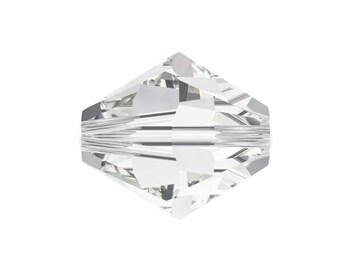 50 Pcs Swarovski® 5328 3mm XILION Bead in Crystal 001