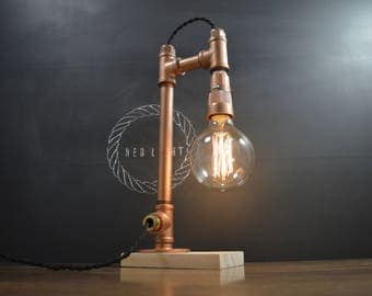 AMPERE Copper Pipe Lamp