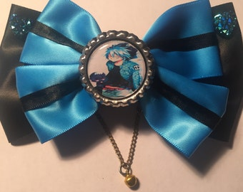Servamp hair bow (kuro)