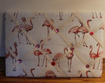 Handmade Fabric Memo/Notice Board