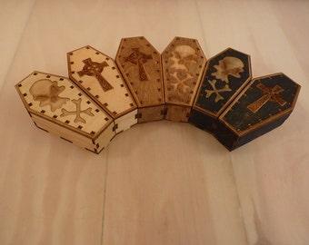 """Mini 4"""" Coffins (Sets of 2)"""
