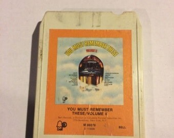 You Must Remember These - Vol II 8 Track
