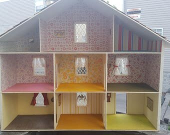 Vintage Large Dollhouse