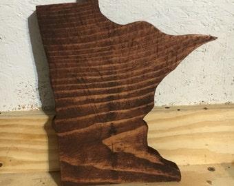 Minnesota Wood Cutout