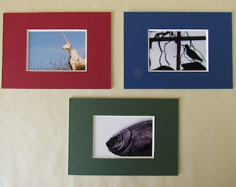 Strange creatures: set of 3 mount-cards