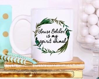 Louise Belcher is My Spirit Animal Mug, Bob's Burger mug, Bobs Burgers mug, Funny Mug, Tina Belcher Mug, Bob's Burgers Gift, TV Show Mug