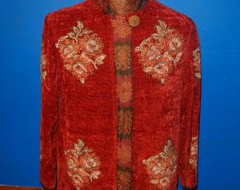 Vintage Flashback Embroidered Blazer