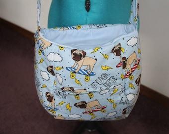 Pug Shoulder Bag