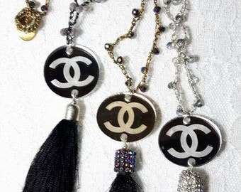 Double c necklace