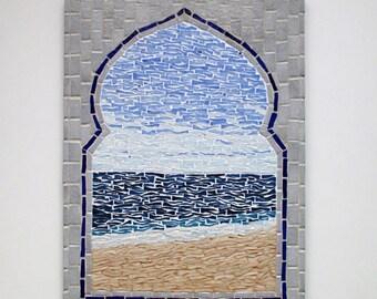 "Mosaic table ""Sea view"""