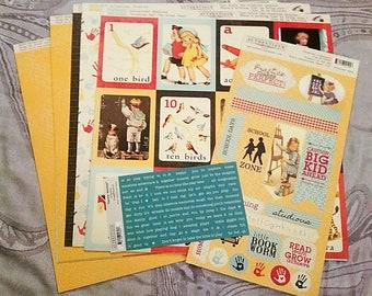 """Authentique ~Studious~ 95 pc. 12 x 12"""" Cardstock Set"""