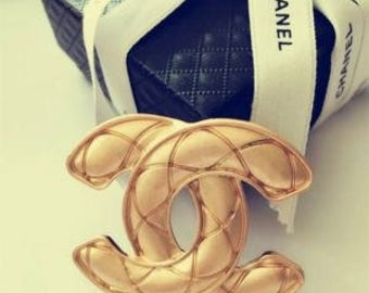"Chanel ""Quilted"" brooch"