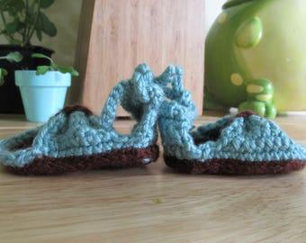 Hand Crochet Baby Sandals