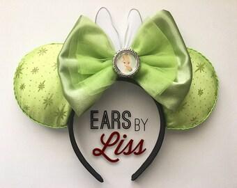 Tinkerbell Ears, Disney Fairy Ears, Pixie Dust Ears, Wings ears, Minnie Mouse, Mickey Mouse, Disney Parks, Fairies